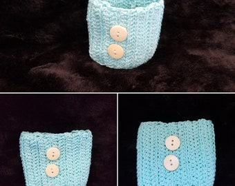 Blue Cup Cozy // Cup Cozy // Coffee Cozy // Cozies