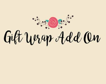 Gift Wrap and Greeting Card Add-on Listing