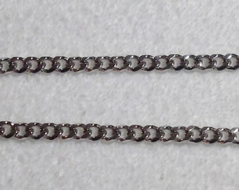 Stainless Steel Curb Link Chin Chain for Miniature Horse Show Halter