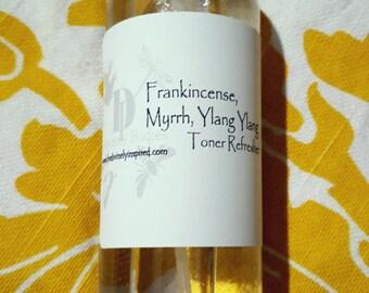 Frankincense Myrrh and Ylang Ylang Toner and Refresher