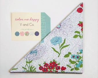 """Color Me Happy Slice by V and Co for Moda - 42 - 10"""" triangles"""