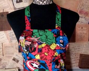 Marvel Avengers Apron with Pocket