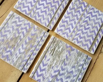 Sale * Grow and Co coasters. Purple decor
