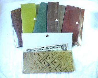 Cash Envelope Wallet, Men Wallet, Gift For Him, Personalized Gifts