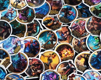 League of Legends icon stickers M-Z