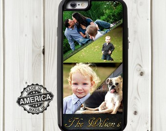 Personalized Photo Collage - four photo collage - Samsung  S5 case - iPhoto case