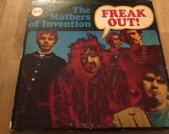 The Mothers Of Invention Frank Zappa  Freak Out Debut 1966 Verve records