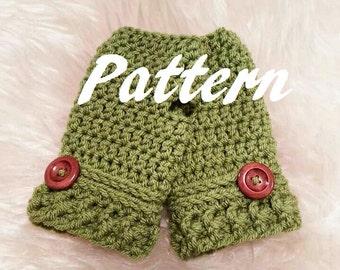 Pattern for Fingerless gloves/ handwarmers