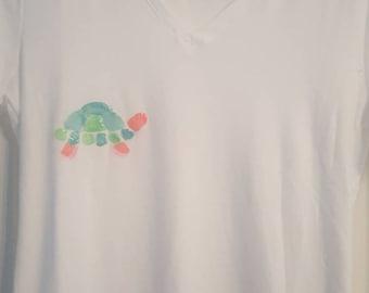 Bright turtle t-shirt