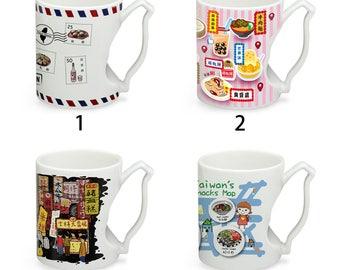 Taiwan Mug Handmade Ceramic Mug Gourmet Series