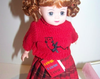 First Day of School madame alexander 8 in doll MINT in Box