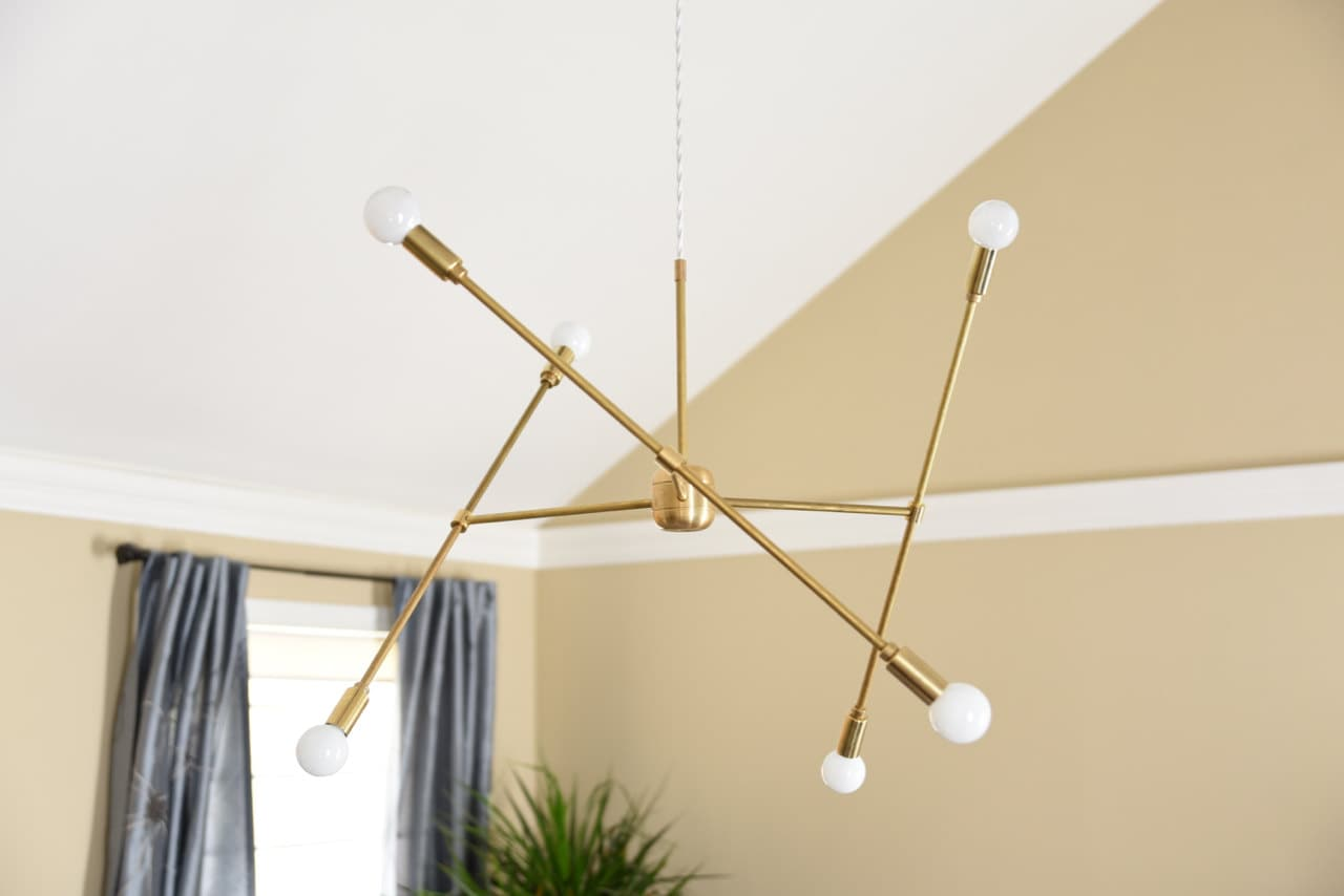large modern chandelier lighting. Large Modern Chandelier Gold Three Arm Sputnik Bulb Brass Plug In Or Canopy Edison Industrial Hanging Light Lighting I