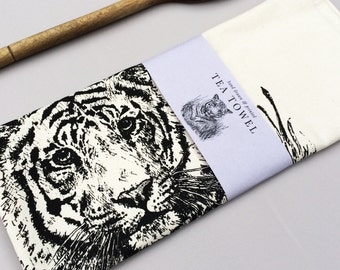 Jungle Tiger Tea Towel