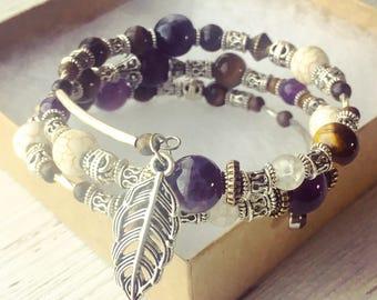 Amethyst & Tigers Eye Bracelet