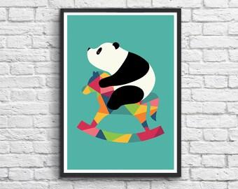 Art-Poster 50 x 70 cm - Baby Panda