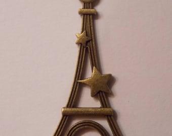 Pretty charm Eiffel Tower paris metal bronze