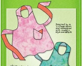Apron Pattern-Church Ladies Apron Pattern by Mary Mulari-Free US shipping
