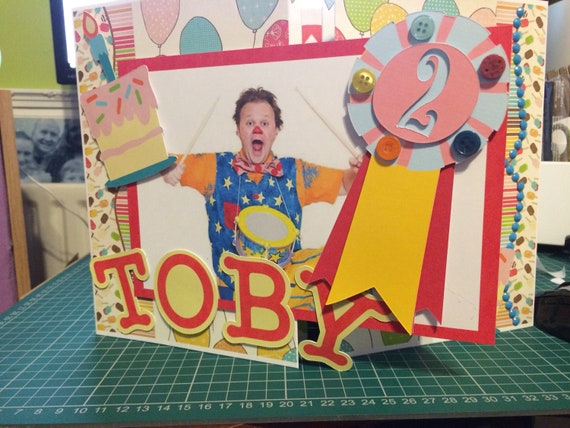 Mr Tumble Birthday Card Cbeebies Kids Birthday Cardcbeebies
