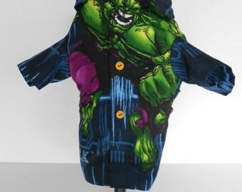 Incredible Hulk Small Dog Shirt-one of a kind