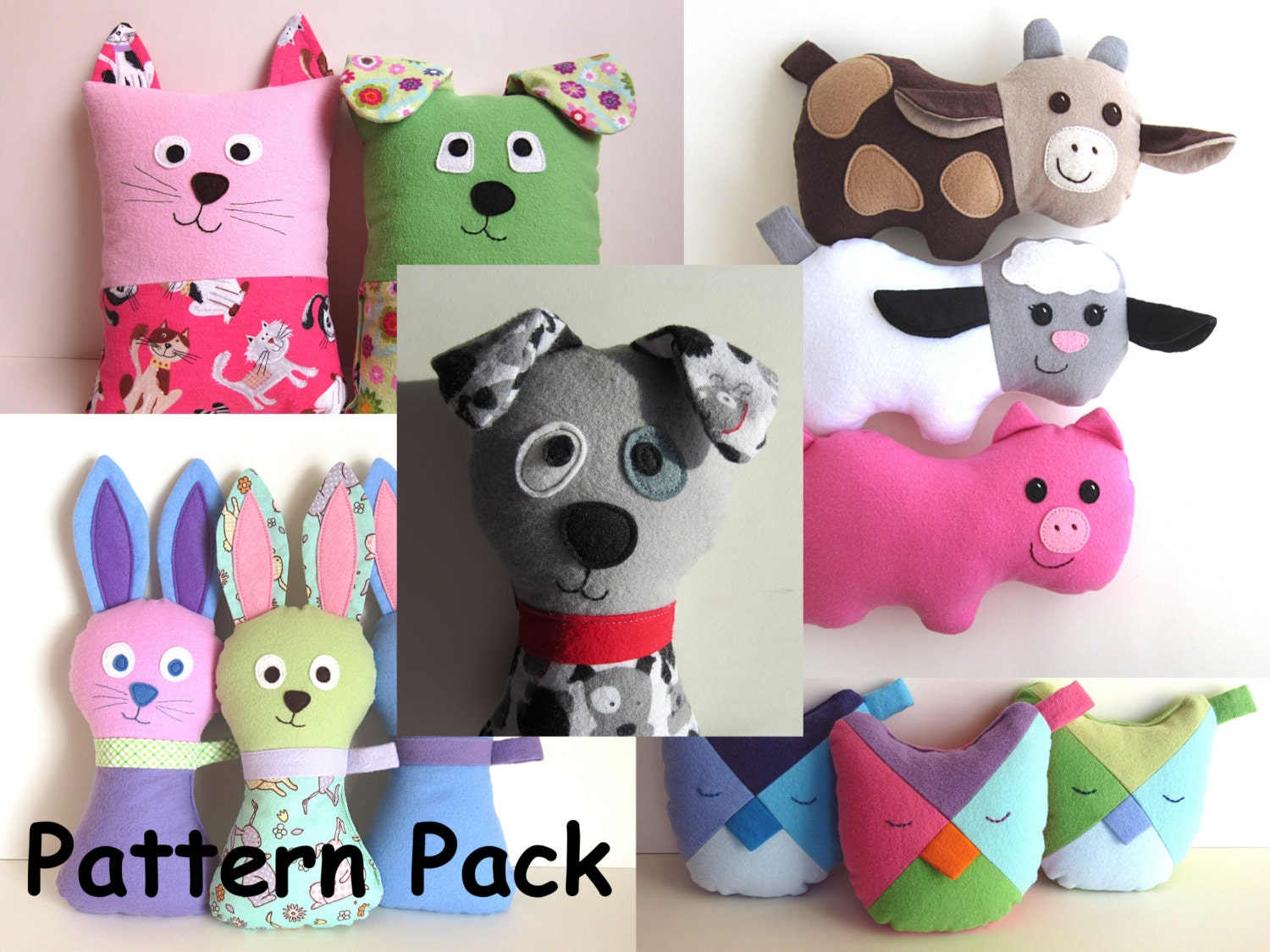 Diy baby gifts pattern pack by my funny buddy with scruffy zoom jeuxipadfo Images