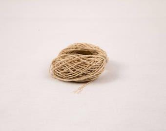 Natural Hemp Yarn 0.7 mm