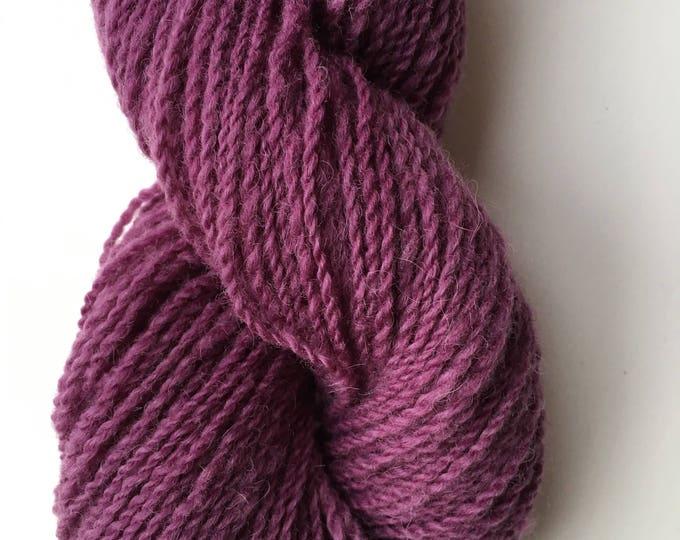 Purple Cochineal Alpaca Merino Yarn