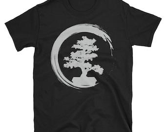 bonsai shirt - bonsai tree shirt - bonsai t shirt - bonsai tree - bonsai t-shirt - enso circle - bonsai enso - bonsai gift - bonsai