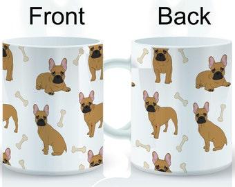 Frenchie II Wrap Mug
