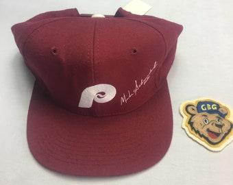 New Vintage 80's Philadelphia Phillies Mike Schmidt Nameplate Snapback Hat