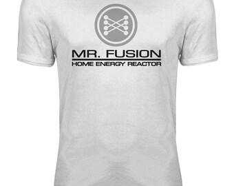 Back to the Future - Delorean Mr Fusion Movie Womens T-shirt
