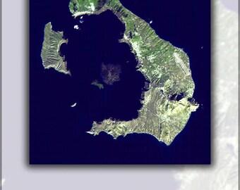 Poster, Many Sizes Available; Santorini Island, Greece Atlantis