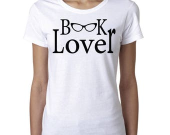 Librarian, Book Lover, Bibliophile, Statement Women's T-shirt *Free Shipping*