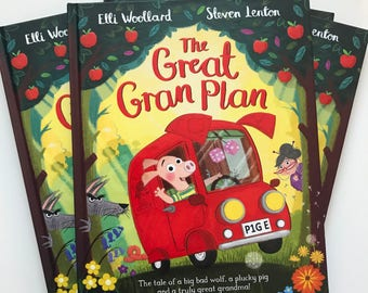 The Great Gran Plan Signed Hardback Picture Book