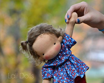 KIT supplies and Pattern for Cupcake Doll