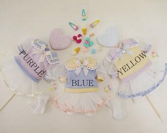 Blythe Doll Dress, Ruruko, Pure neemo XS, 1/6 Doll Clothes