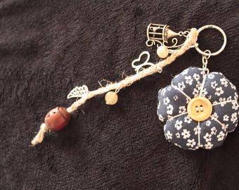 Keychain/bag charm nature