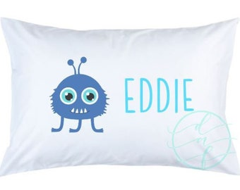 Personalized Custom Monster Pillowcase
