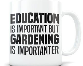 Gardening Mug, gardening gift, gardening gift idea, gardening gift for women and men, gardener gift, garden gift, garden lover, importanter