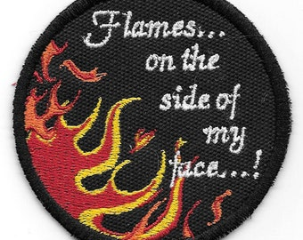 Clue - Flames on the Side of My Face! patch