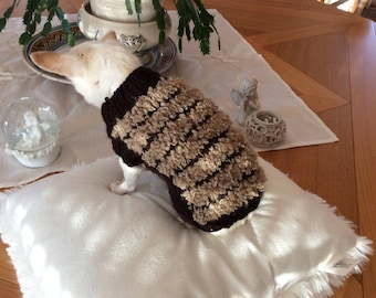 Small dog or cat 1 kg 00-2 kg00 wool dog sweater
