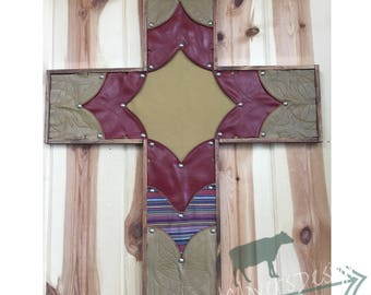Boot Top Cross - Cowboy Boot Cross, Cowgirl Boot Cross, Boot Crosses, Leather Crosses