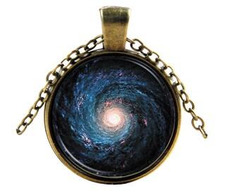 Galaxy Necklace-Galaxy Pendant