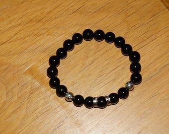 Obsidian protection bracelet