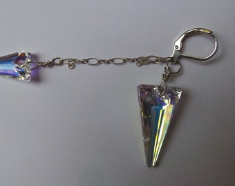 Lightning Bolt Gemstone Earring