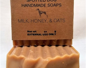 Milk, Honey, & Oats Goat Milk Bar Soap