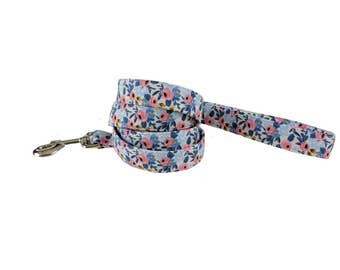 Colorful Floral Spring/Summer Dog Leash