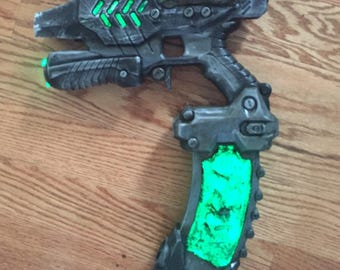 Custom Nerf Destiny Hive paint job// custom weathering and other fun  internal mods.