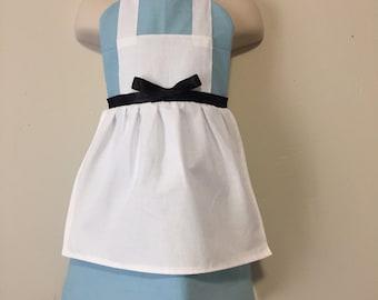 Alice in Wonderland Dress Up Apron - Reversible