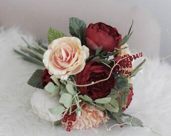 Paper bridal bouquet | Etsy