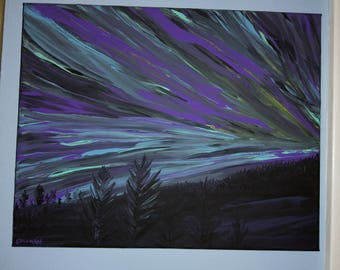 Painting - Aurora Borealis
